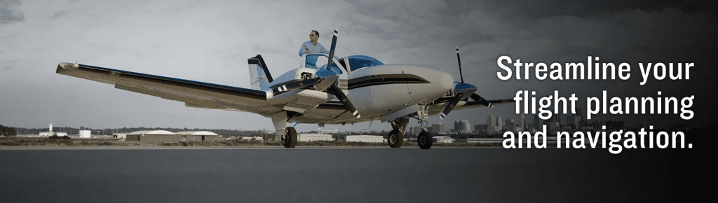 Streaming your flight plan and navigation